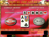 Игровой аппарат Royal Treasures онлайн