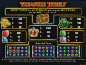 Treasure Jewels азартная игра бесплатно