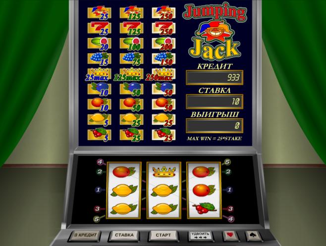 Онлайн казино прыгающий джек. Бездепозитные бонусы в онлайн казино
