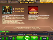 Egyptian Heroes NetEnt Wild и Scatter
