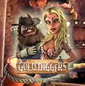 Gold Diggers - игровой автоматический прибор Золотоискатели резаться бесплатно